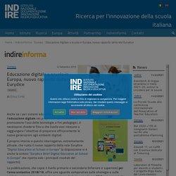 Educazione digitale a scuola in Europa, nuovo rapporto della rete Eurydice – Indire