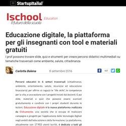 Educazione digitale, la piattaforma per gli insegnanti con tool e materiali gratuiti