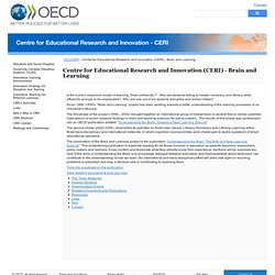 OECD: Brain & Learning