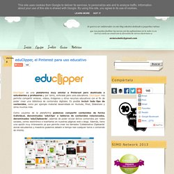eduClipper, el Pinterest para uso educativo