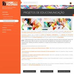 Projetos de Educomunicação
