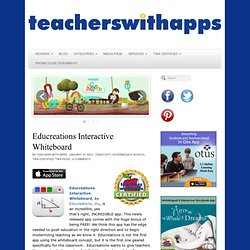 educreations teacherswithapps