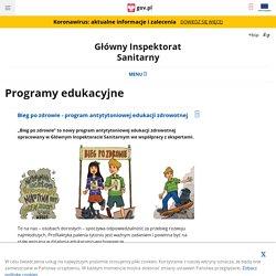 Programy edukacyjne - Główny Inspektorat Sanitarny - Portal Gov.pl