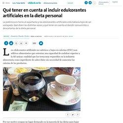 Qué tener en cuenta al incluir edulcorantes artificiales en la dieta personal - 29.08.2016 - LA NACION