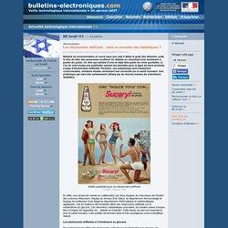 BE Israël 113 >> 4/12/2014 Les édulcorants artificiels : amis ou ennemis des diabétiques ?