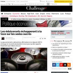 Les édulcorants échapperont à la taxe sur les sodas sucrés