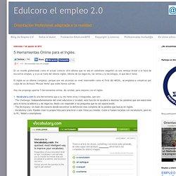 5 Herramientas Online para el Inglés.