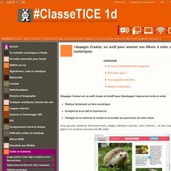 Edupages Creator, un outil pour amener vos élèves à créer simplement des livres numériques