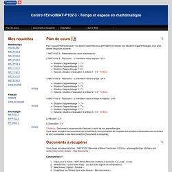 Centre l'EnvolMAT-P102-3 - Temps et espace en mathématique