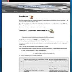Eduportfolio.org Dossier numérique C2i2e de Séverine DELMARLE