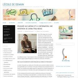 Éduquer aux médias et à l'information, une interview de Divina Frau-Meigs