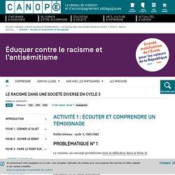 Canopée Eduquer contre le racisme