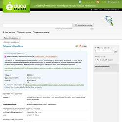 Eduscol - Handicap