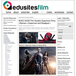 Edusites Film Studies Teaching & Learning Resources