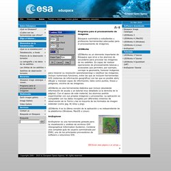Eduspace ES - Inicio - Programa para el procesamiento de imágenes