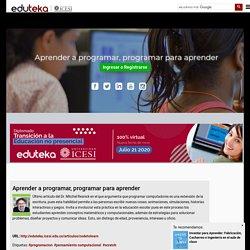 Eduteka - Aprender a programar, programar para aprender