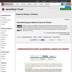 Aprendizaje Visual > Líneas de Tiempo > Software
