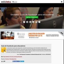 Gu a de Facebook para educadores