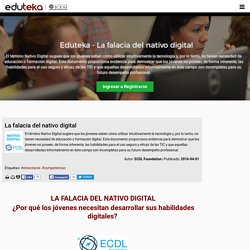 teka - La falacia del nativo digital