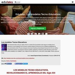Eduteka - Los modelos Tecno-Educativos