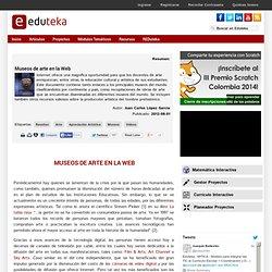 Museos de arte en la Web