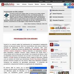 Programación con S4A y Arduino