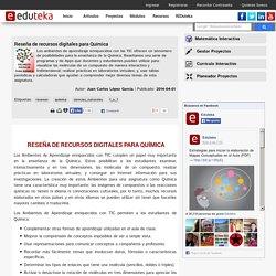 Reseña de recursos digitales para Química