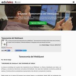Eduteka - Tareonomía del WebQuest.