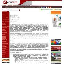 EDUTEKA - WebQuest: Viajemos a España (Grados 9º a 11º)