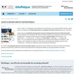 Éduthèque-Actualité