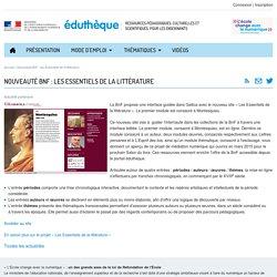 Les Essentiels de la littérature (BNF)