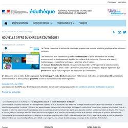 Éduthèque-ActualitésCNRS - Préhistoire