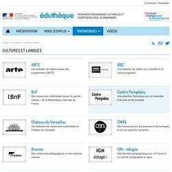 Éduthèque-Cultures et langues