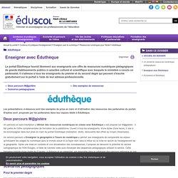 éduthèque - Enseigner avec Éduthèque
