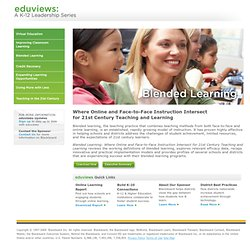 eduviews: Blended Learning