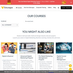 Explore all latest programs and courses