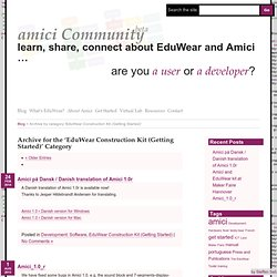 EduWear Construction Kit (Getting Started) « amici Community