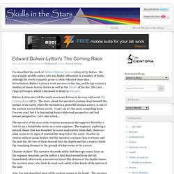 Edward Bulwer-Lytton's The Coming Race