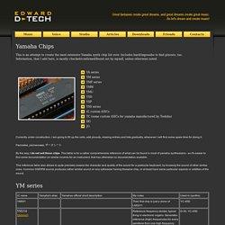 Edward d-tech website - music