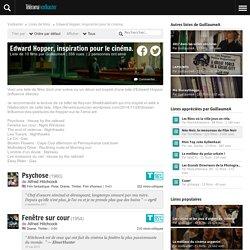 Edward Hopper, inspiration pour le cinéma., une liste de films par GuillaumeA