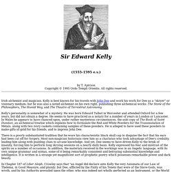 Edward Kelly