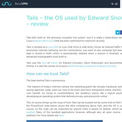 Tails - the OS used by Edward Snowden - review - BestVPN.com