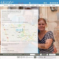 Hotel Edward1er - Hotel de charme à Monpazier - Dordogne - Contact