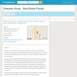 Edwards Group - Real Estate Florida