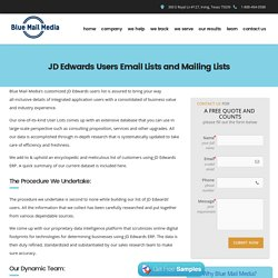 JD Edwards Users List - List of Companies Using JD Edwards
