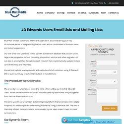 JD Edwards Users List - List of Companies Using JD Edwards