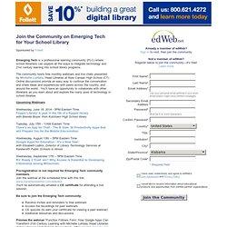 edWeb.net Emerging Tech