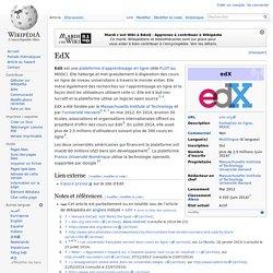 Plateforme EdX