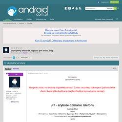 Edytujemy androida poprzez plik Build.prop