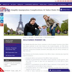 Get EEA Family Permit in the UK By Visa Simple